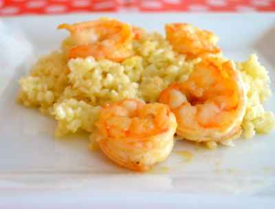 Cauliflower-Risotto-With-Grilled-Shrimp-2