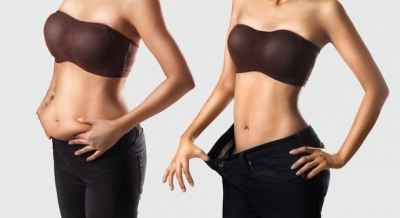 belly-fat-vs-flat-belly-comparison