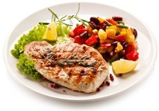 chicken-and-vegetables-on-plate