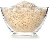 white-rice-in-a-glass-bowl