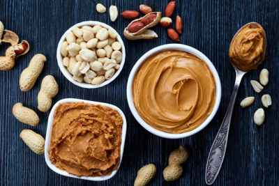 bowls-of-peanuts-and-peanut-butter