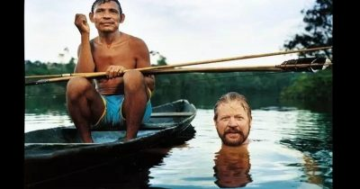 Anthropological linguist named Daniel Everett in the Amazon Rainforest {image: lifeforbusypeople.com]