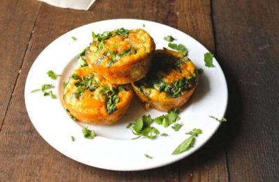 Chorizo-Spinach-and-Sweet-Pepper-Egg-Muffins
