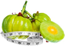 garcinia-cambogia-fruit-and-tape-measure