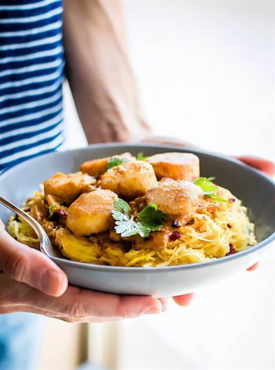 seafood-pumpkin-spagetti-squash-pasta-with-miso-paleo-1
