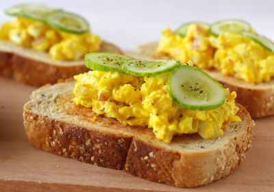 turmeric egg sandwich recipe