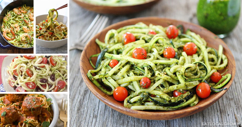 ZOODLES! 8 Magnificent Zucchini Noodle Recipes You'll Want To Eat All ...