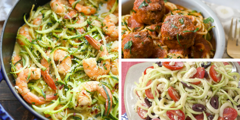 ZOODLES! 8 Delicous Zucchini Noodle Recipes You Need To Try