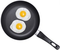 two-fried-eggs-on-pan