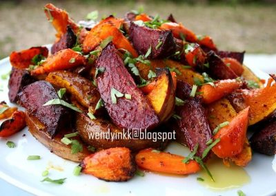 honey-mustard-roasted-pumpkin-and-root-vegetables