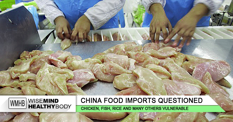 Contaminated foods from China flooding into the U.S. under the 'Organic' label