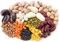 group-of-beans-and-lentils