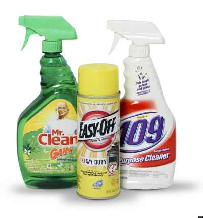 chemical cleaners